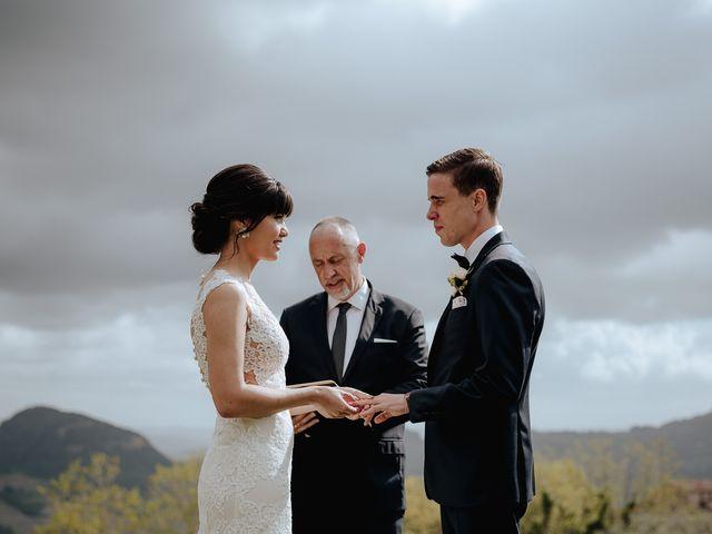 Il matrimonio di Geoff e Alison a San Gimignano, Siena 119