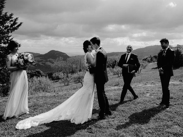 Il matrimonio di Geoff e Alison a San Gimignano, Siena 122