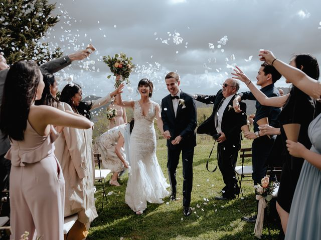 Il matrimonio di Geoff e Alison a San Gimignano, Siena 123