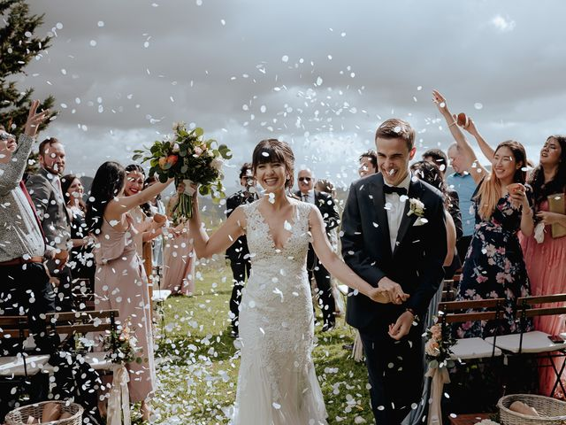 Il matrimonio di Geoff e Alison a San Gimignano, Siena 124