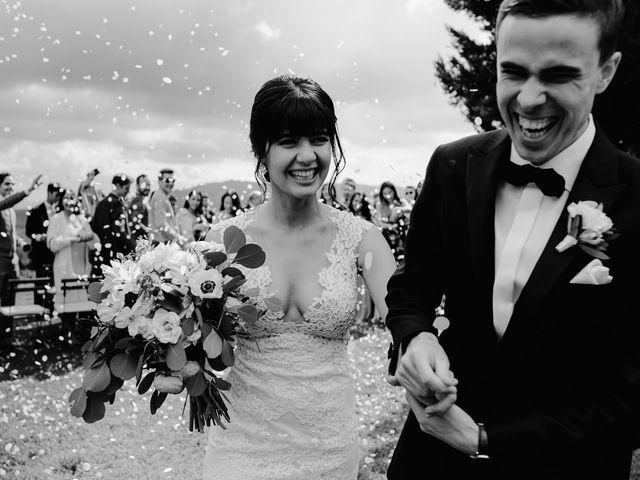 Il matrimonio di Geoff e Alison a San Gimignano, Siena 125
