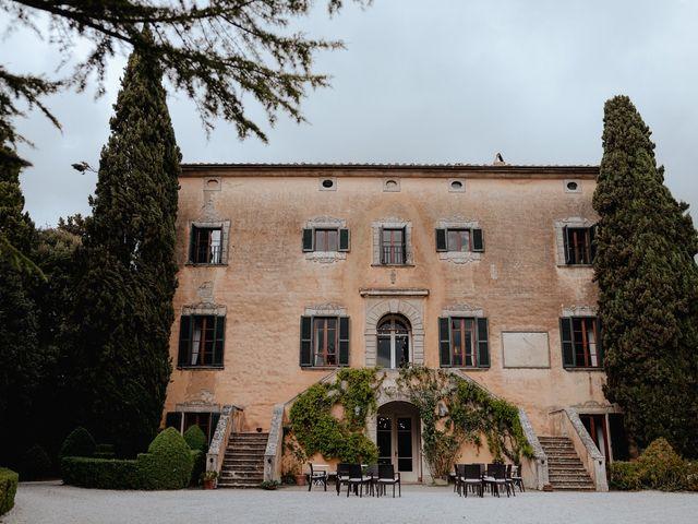 Il matrimonio di Geoff e Alison a San Gimignano, Siena 128
