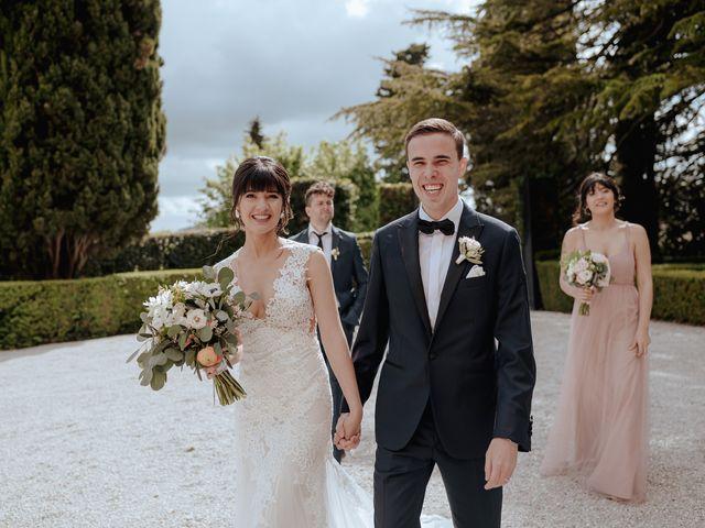 Il matrimonio di Geoff e Alison a San Gimignano, Siena 130