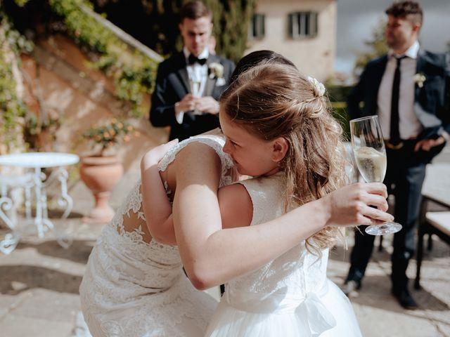Il matrimonio di Geoff e Alison a San Gimignano, Siena 131