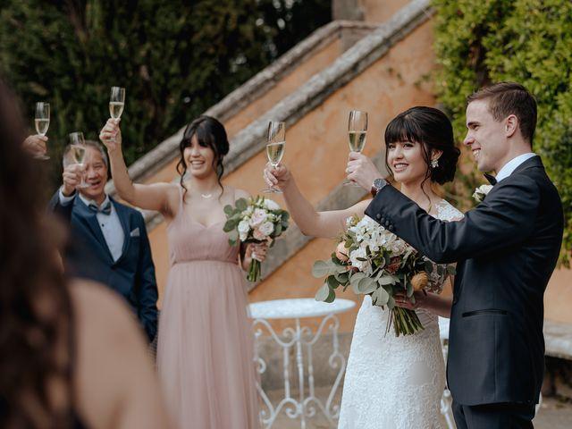 Il matrimonio di Geoff e Alison a San Gimignano, Siena 132