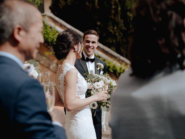 Il matrimonio di Geoff e Alison a San Gimignano, Siena 139