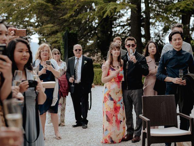 Il matrimonio di Geoff e Alison a San Gimignano, Siena 140
