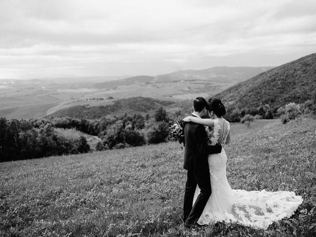 Il matrimonio di Geoff e Alison a San Gimignano, Siena 148