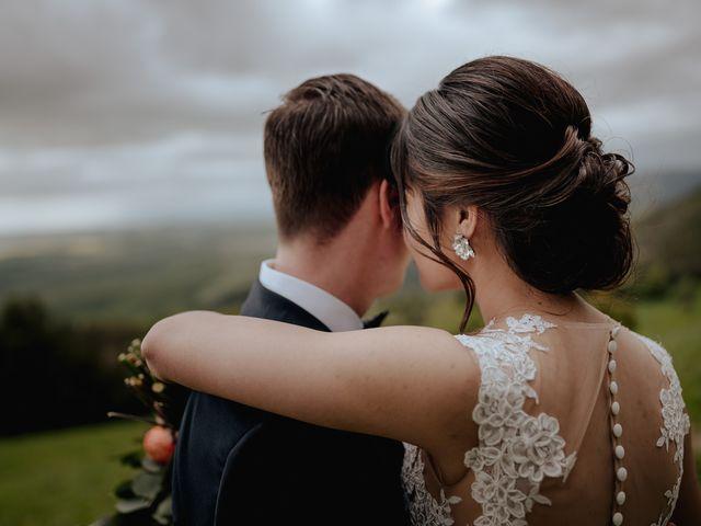 Il matrimonio di Geoff e Alison a San Gimignano, Siena 149