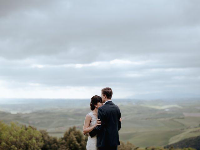 Il matrimonio di Geoff e Alison a San Gimignano, Siena 154