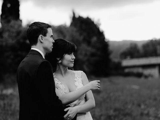 Il matrimonio di Geoff e Alison a San Gimignano, Siena 155