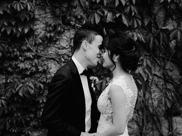 Il matrimonio di Geoff e Alison a San Gimignano, Siena 160