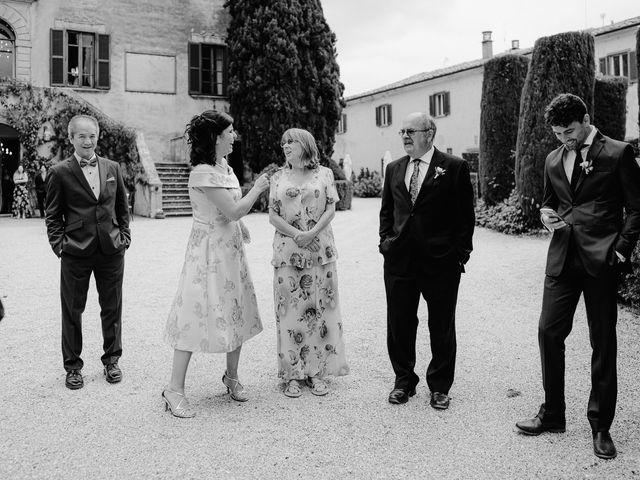 Il matrimonio di Geoff e Alison a San Gimignano, Siena 163
