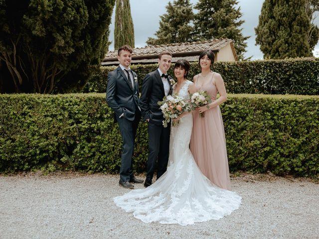 Il matrimonio di Geoff e Alison a San Gimignano, Siena 164