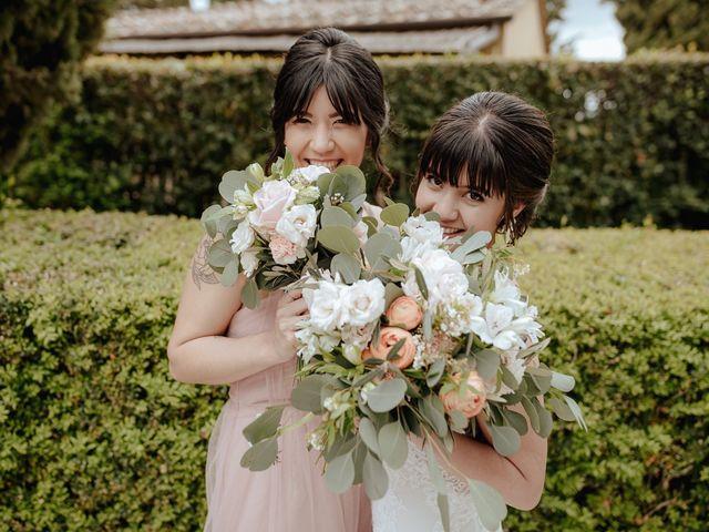 Il matrimonio di Geoff e Alison a San Gimignano, Siena 165