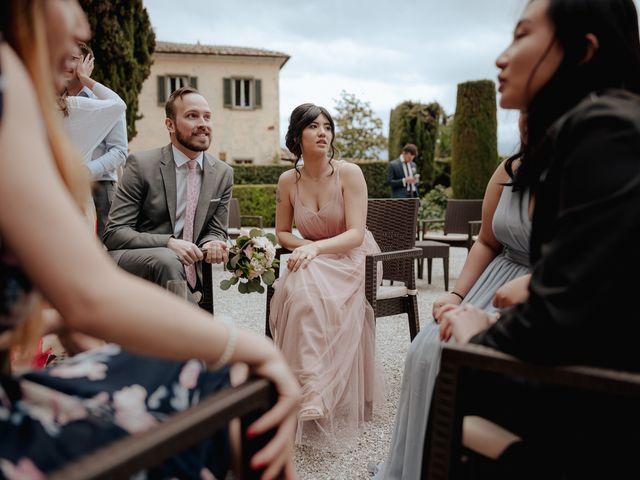 Il matrimonio di Geoff e Alison a San Gimignano, Siena 168