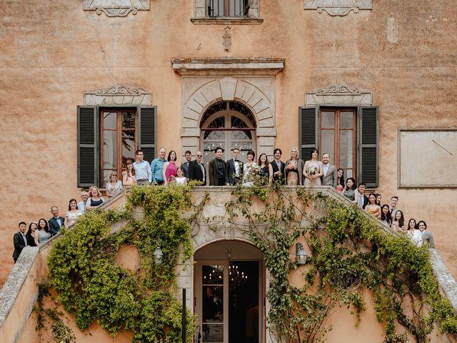 Il matrimonio di Geoff e Alison a San Gimignano, Siena 170