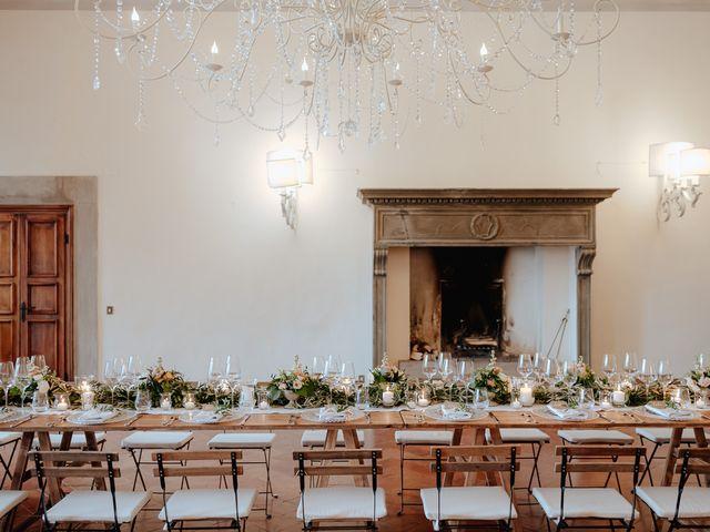 Il matrimonio di Geoff e Alison a San Gimignano, Siena 173