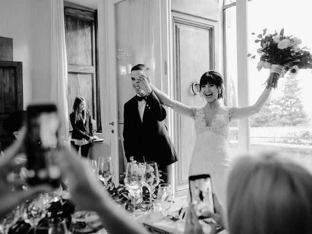 Il matrimonio di Geoff e Alison a San Gimignano, Siena 185