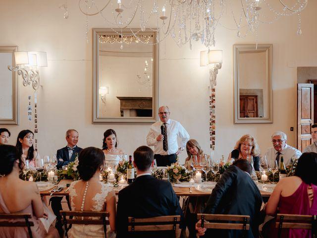 Il matrimonio di Geoff e Alison a San Gimignano, Siena 188
