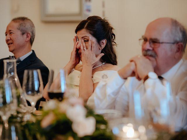 Il matrimonio di Geoff e Alison a San Gimignano, Siena 193