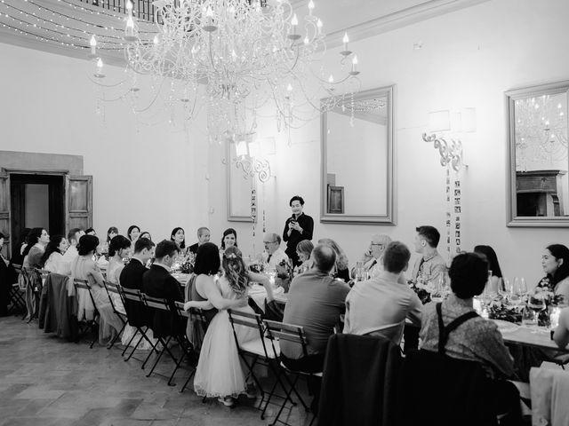 Il matrimonio di Geoff e Alison a San Gimignano, Siena 197