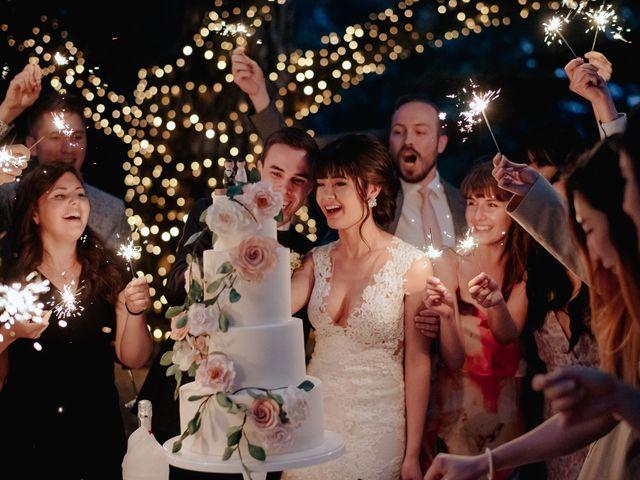 Il matrimonio di Geoff e Alison a San Gimignano, Siena 206