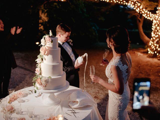 Il matrimonio di Geoff e Alison a San Gimignano, Siena 210