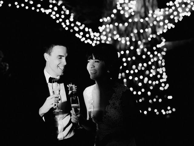 Il matrimonio di Geoff e Alison a San Gimignano, Siena 213