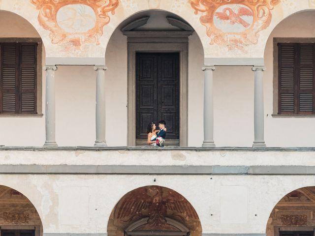 Il matrimonio di Alessandro e Veronica a Cernusco sul Naviglio, Milano 60
