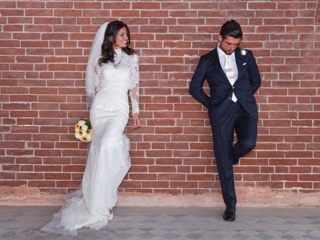 le nozze di Sara e Claudio