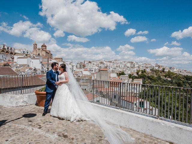 Il matrimonio di Graziangela e Nico a Pisticci, Matera 15