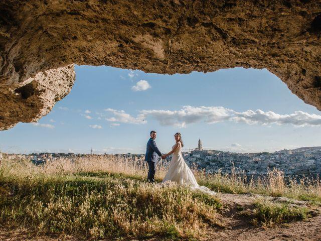 Il matrimonio di Graziangela e Nico a Pisticci, Matera 25