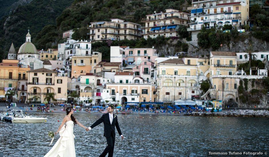 Il matrimonio di Luigi e Amalia a Amalfi, Salerno