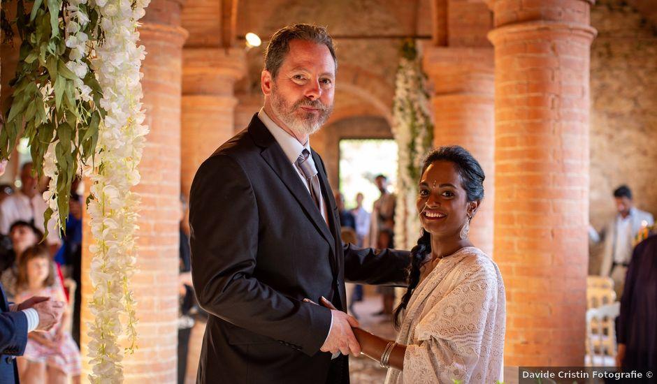 Il matrimonio di John e Kirthana a Pisa, Pisa