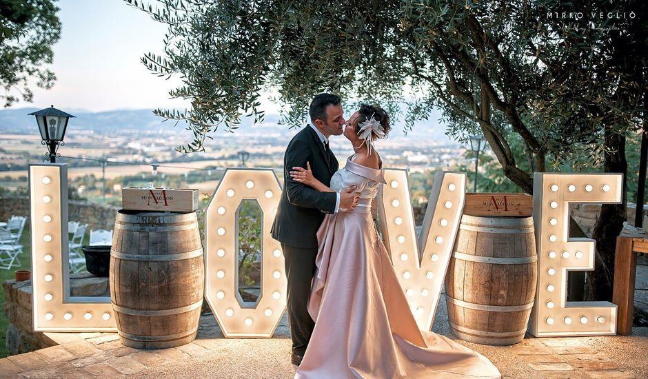 Il matrimonio di Giuseppe  e Ivana  a Castiglione del Lago, Perugia