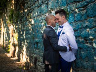 Le nozze di Cristian e Omar