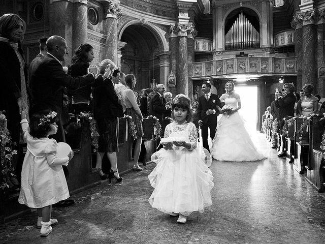 Il matrimonio di Massimiliano e Lucrezia a Cumiana, Torino 15