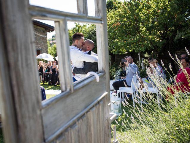 Il matrimonio di Omar e Cristian a Grumello del Monte, Bergamo 26