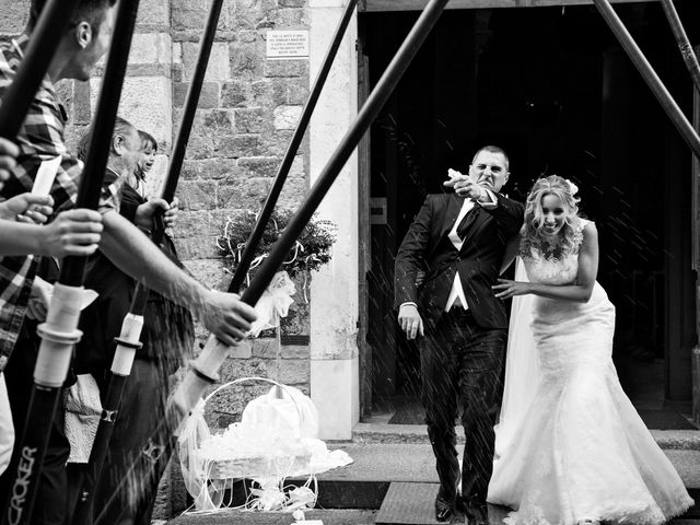 le nozze di Carlotta e Nicola