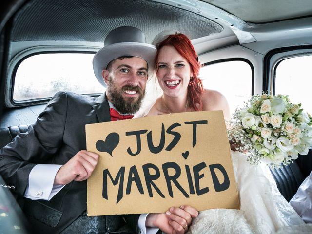 le nozze di Elisa e Ovidiu