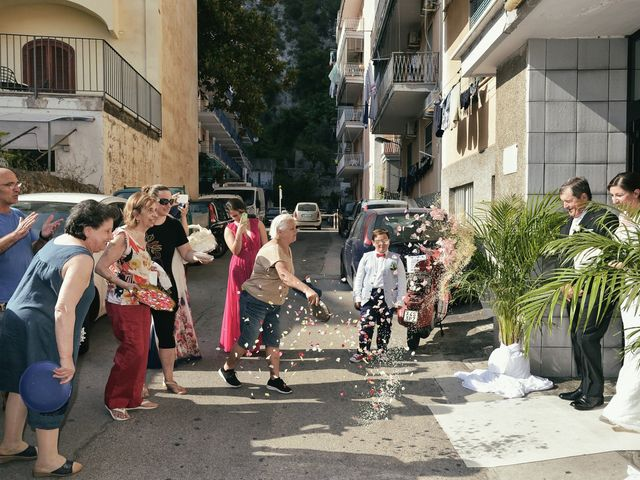 Il matrimonio di Paola e Paolo a Maiori, Salerno 19