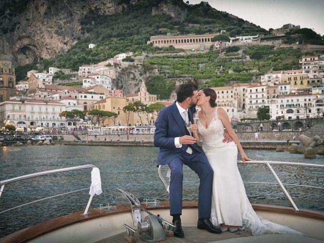 Il matrimonio di Paola e Paolo a Maiori, Salerno 43
