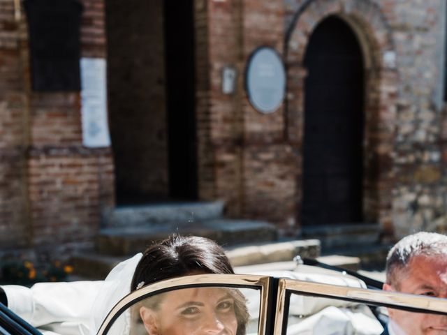 Il matrimonio di Marco e Ingrid a Castell'Arquato, Piacenza 35