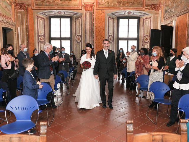 Il matrimonio di Emanuele e Chiara a Melegnano, Milano 1