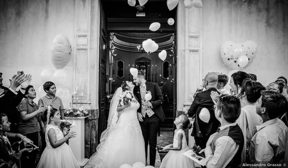 Il matrimonio di Carmelo e Emily a Calatabiano, Catania