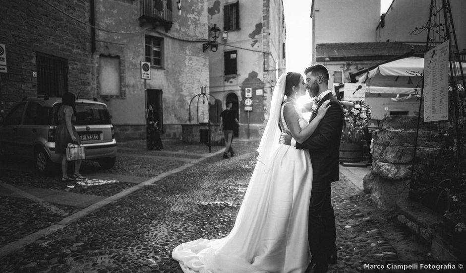 Il matrimonio di Gavino e Chiara a Alghero, Sassari