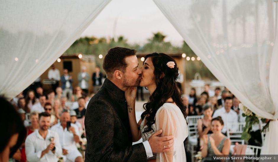 Il matrimonio di Martin e Daniela a Monopoli, Bari