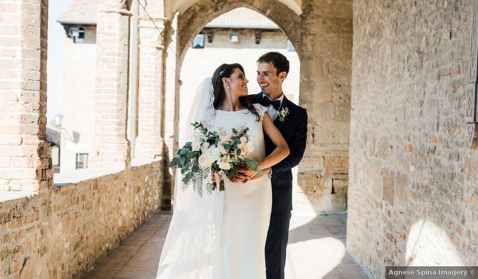 Il matrimonio di Marco e Ingrid a Castell'Arquato, Piacenza