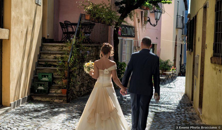 Il matrimonio di Rodolfo e Alessandra a Trevignano Romano, Roma